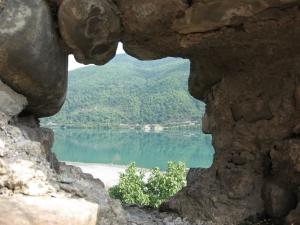 Georgien, Blick von Ananuri-Festung