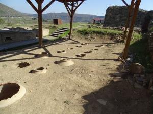 Tourismus in Georgien, Ausgrabungen in Mzcheta