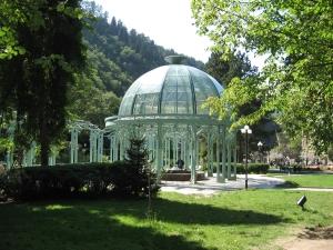 Georgien: Das Land mit viel Tourismus-Potenzial, in Bordschomi-Park