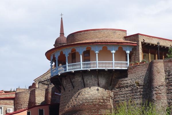 Allgemeine Route durch Tbilissi, Daredschan-Palast