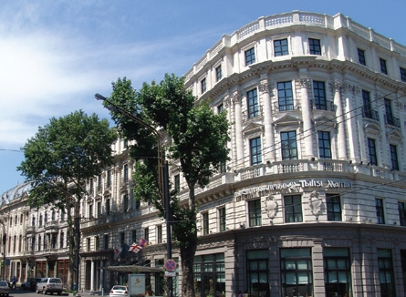 Eklektisches Tbilissi, Marriott Tbilisi Hotel