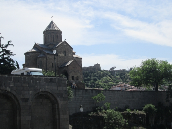 Alte Denkmäler, Metechi-Kirche