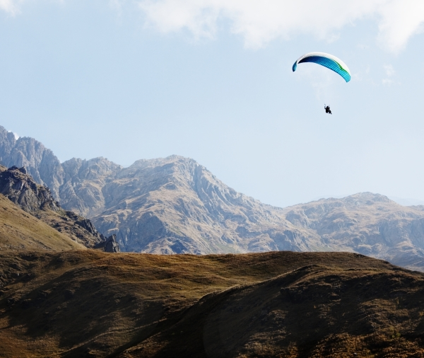 Abenteuerland Georgien, Paragliding