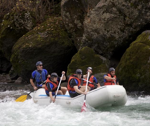 Abenteuerland Georgien, Rafting