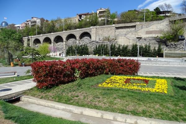 Allgemeine Route durch Tbilissi, Rike-Park