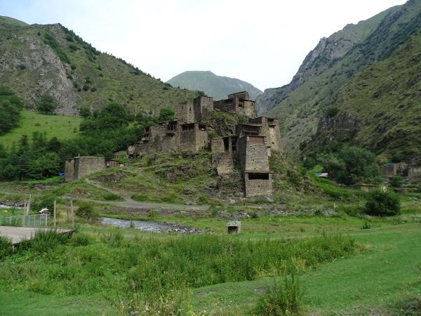 Die Türme in Schatili