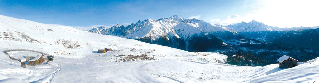 Wintertourismus in Georgien, Berge in Swaneti
