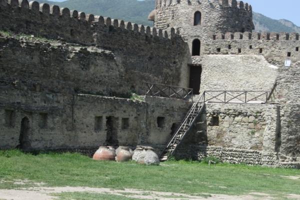 Allgemeine Reiseinformationen, Swetizchoweli-Mauer in Mzcheta