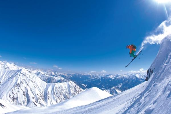 Schifahren in Bergen