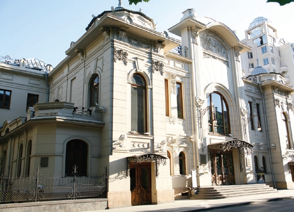 Europäische Architektur,  Mardschanischwili-Theater