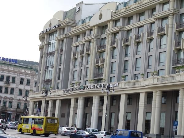 Europäische Architektur, Stadtverwaltung Tbilissi