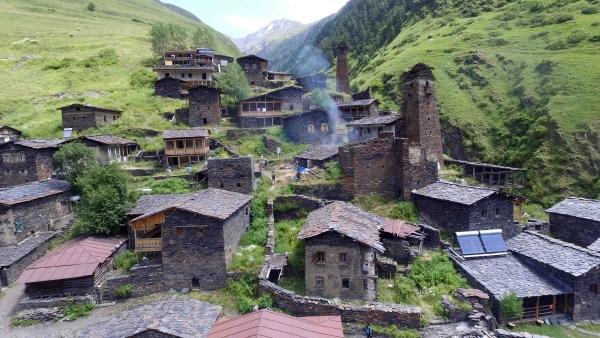 Georgien - Die Hüter des Kaukasus, In Tuscheti