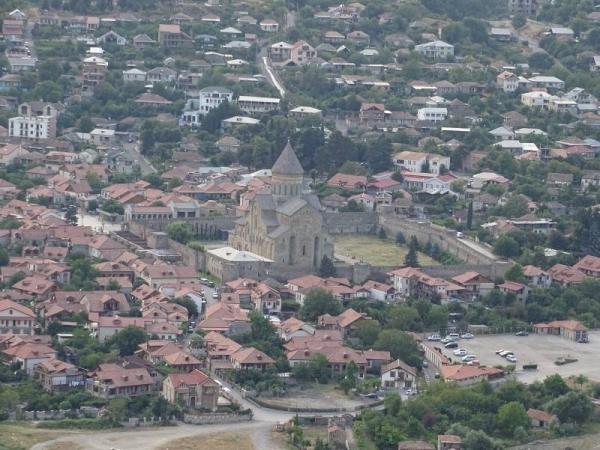 Blick auf die Stadt Mzcheta