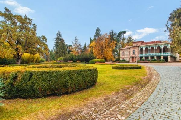 Historische Gärten & Deutsche Siedlungen, Garten in Zinandali