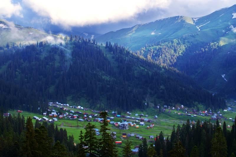Berglandschaft in Guria, Einrichtung eines Nationalparks in Guria