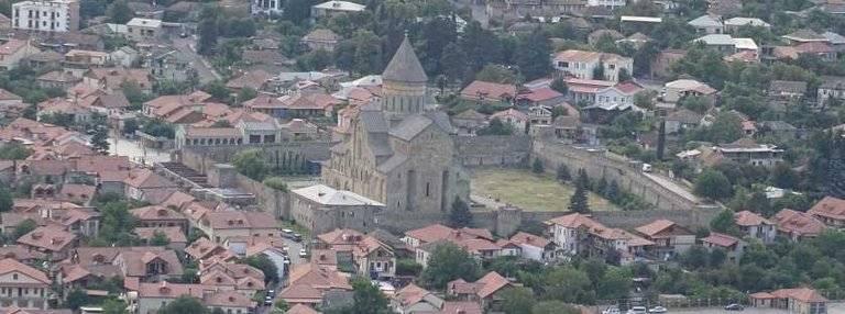 Mzcheta-Mtianeti, Blick auf die Stadt