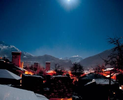 Latali, Dorf in Semo Swaneti