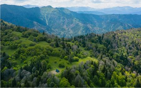 Ökotourismus-Pfad im Nationalpark Bordschomi-Charagauli