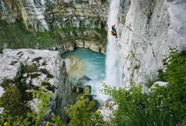 Canyon & Wasserfälle von Okaze