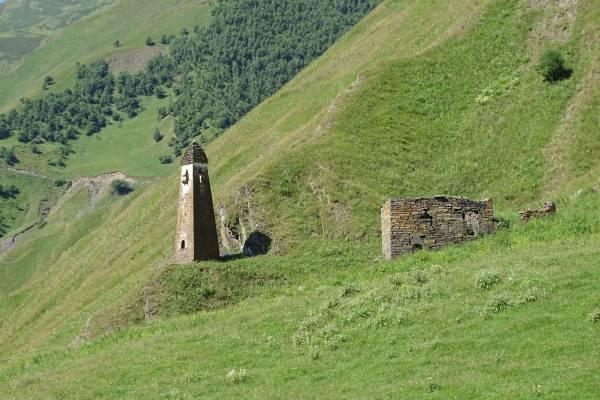 Schutzgebiete Pschaw-Chewsureti, Turm
